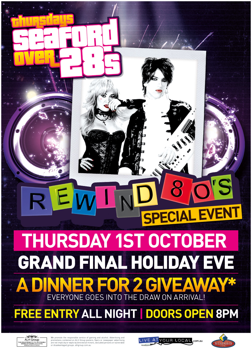 SEAFORD-28s-GRAND FINAL HOLIDAY EVE