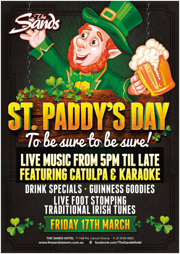 SANDS-HOTEL-st-pats-day-POSTER-feb17